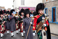 20151203- Black Watch Forfar Freedom Parade 010