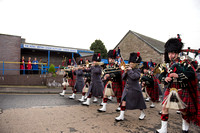 20151203- Black Watch Forfar Freedom Parade 007