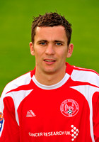 20100803- Brechin City F.C. player David McKenna
