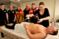 20110205- Charity Waxing for RNLI