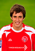20100803- Brechin City F.C. player Calum Booth