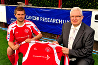 20100803- Brechin City F.C. Cancer Research UK Shirts 01