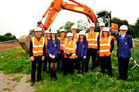 21140702- Brechin Community Campus sod cutting 012