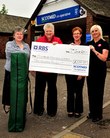 20110607- Scotmid cheque to Highland Games